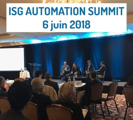 ISG Automation Summit, Paris